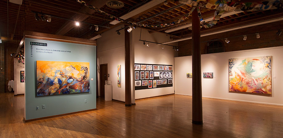 Converging Boundaries (Cultural Arts Center) on Solo Exhibit