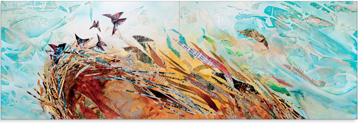 Artwork: Leaving the Nest - Horizontal 1 - 72 x 24 in.