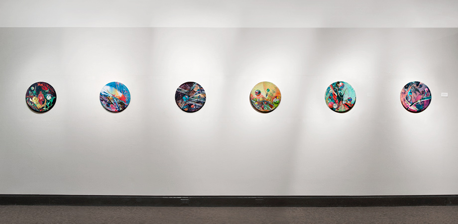 Artwork: Portal Series - Installation View