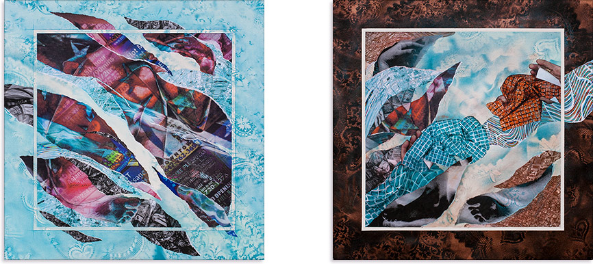 Artwork: Hope and Liberation - Diptych