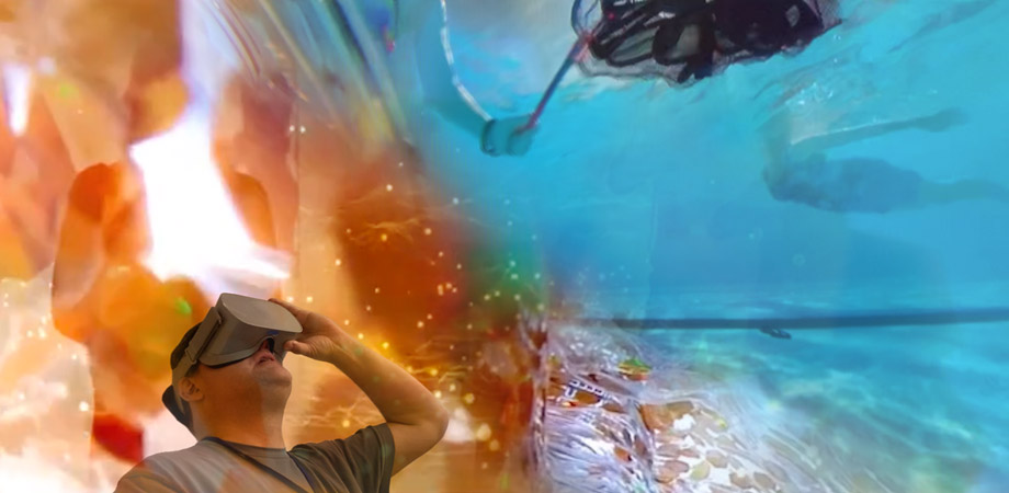 Flow | Form (Columbus Idea Foundry) on VR + Projection Installation